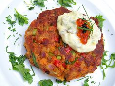 Crispy Salmon Croquettes with Cajon Remoulade Sauce are a cinch to prepare and a savory, sumptuous main to delight in