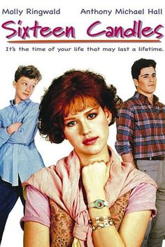 Sixteen Candles (1984)Molly Ringwald plays the angsty teenage girl pining for love and attention in this teen classic from John Hughes.  Available May 1  #refinery29 http://www.refinery29.com/2016/04/109034/netflix-may-2016-new-releases#slide-26