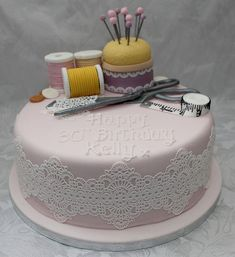Seamstress Birthday Cake!! :-)
