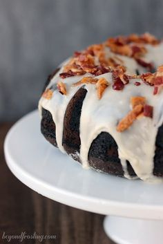 Let me start by saying sorry, I am not sorry for posting this over the top chocolate, maple and bacon goodness- as this is simply the best combination there is. Did I mention there was bourbon too? This Ultimate Bourbon Maple Bacon Chocolate Cake combines the sweetness of a maple glaze with the salty bacon …