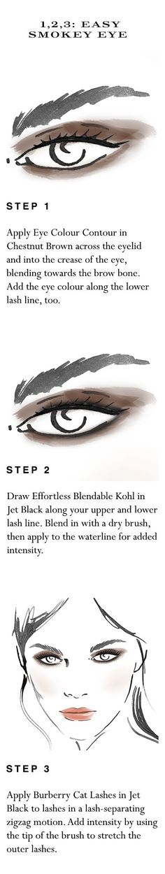 Your easy to follow make-up 'how to' for a fast smokey eye in five minutes. Shop the complete look at Sephora.com and explore new Burberry Cat Lashes.