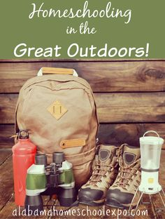 Have you tried homeschooling in the great outdoors? Getting outside and enjoying nature is a great way to learn. Try camping this month and homeschool in the great outdoors!