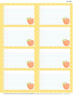 FREE printable multi-use labels for School Kids, Teachers, & Parents. Designed by Erin Rippy of Ink Tree Press, free for download at World Label Blog
