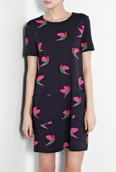 ShopStyle: Marc by Marc Jacobs Finch Print T-shirt Dress