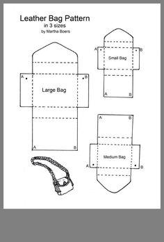 to Make a Leather Bag / Handbag / Shoulder Bag / Purse - Pattern and Tutoria. -How to Make a Leather Bag / Handbag / Shoulder Bag / Purse - Pattern and Tutoria. - How to Make a Leather Bag / Handbag / Shoulder Bag / Purse - Pattern and Tutorial Leather Bag Tutorial, Leather Bag Pattern, Coin Purse Pattern, Handbag Tutorial, Diy Bags Purses, Purses And Handbags, Gucci Purses, How To Make Handbags, Accessoires Barbie