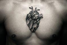 kamil-czapiga-tattoo-geometric-heart-on-chest.jpg (720×482)