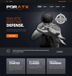 Another self defense website we did
