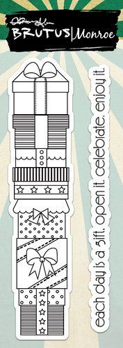 Brutus Monroe | Unmounted Rubber Stamps | Stacked Gifts