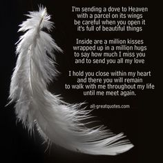 in Loving Memory Card With Poem Free To Share