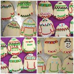 97 Best Ugly Sweater Cookies Images Holiday Cookies Christmas
