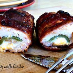 Chicken Bombs  --  I am going to have to move this to the top of list of recipes to try.