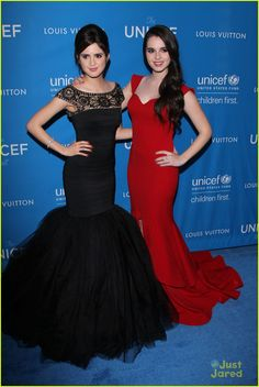Laura & Vanessa Marano Step Out For UNICEF Ball 2016 - See Their Glam Looks!: Photo #914605. Laura Marano brings the drama to the ball as she arrives for the 2016 UNICEF Ball held at Regent Beverly Wilshire Hotel on Tuesday night (January 12) in Beverly…