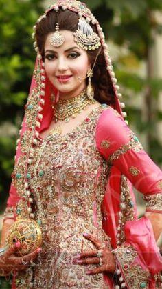 Pakistani Bridal Couture, Pakistani Bridal Makeup, Pakistani Wedding Dresses, Indian Wedding Outfits, Bridal Outfits, Pakistan Bride, Desi Bride, Bollywood, Muslim Brides