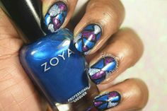 WNAC September 2015: Stained Glass  #nails #naturalnails #nailart #naildesigns #weeklynailartchallenge #wnac #stainedglass #jeweltone #black #shapphire #amethyst #diamond  #zoya #ilnp #dhnl #dailyhues #dailyhuesnaillacquer #notd #nailpolish #nailpolishaddict #nailpolishlover #nailsoftheday #nailartlover #nailartaddict #nailswag #indiepolish #indiepolishlover #indiepolishaddict #nailswag #nailpolishblogger Art Challenge, Jewel Tones, Natural Nails, Swag Nails, Class Ring, Stained Glass, Nailart, Amethyst, Nail Designs