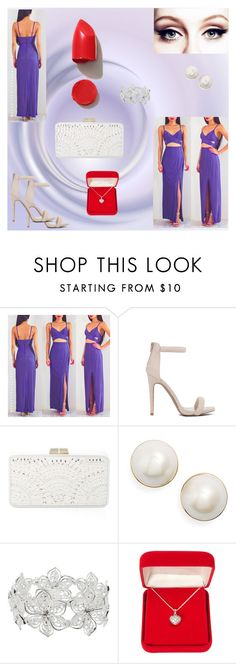 """""""Red lips"""" by almir-camdzic ❤ liked on Polyvore featuring BCBGMAXAZRIA, Kate Spade, M&Co, Alexa Starr and NARS Cosmetics"""