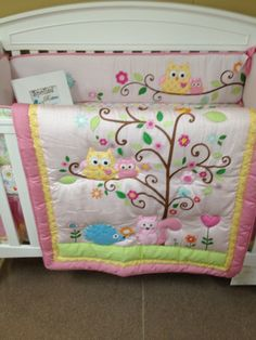 The new owl bedding