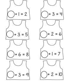 Toplama İşlemi Etkinlikleri   Okul Öncesi Toplama İşlemi 1st Grade Math, First Grade, Grade 1, Preschool Writing, Home Learning, Math Classroom, Math Activities, 1 Year, Note Cards