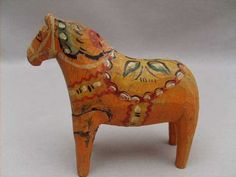 Very Old Swedish Dala Horse Sweden | eBay