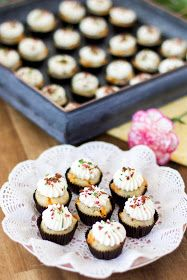 bacon muffins with cream cheese frosting