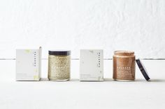 Palermo Body has you covered for all your skin care product needs. Every item is crafted on a small scale and is totally natural, so you can also feel good about using it. The packaging, designed by Stitch Design Co., is a perfect extension of the mindful brand, giving it a light, airy, and clean look.
