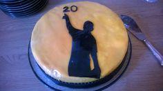 Seppo 20 vuotta - kakku