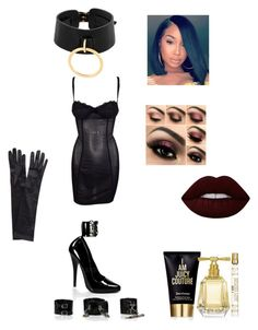 """""""Seduce Me (submissive)"""" by antilia-maria-bradley on Polyvore featuring Lime Crime, Pleaser, Dolce&Gabbana, Absidem, Juicy Couture and John Lewis"""