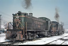 RailPictures.Net Photo: MEC 554 Maine Central Alco RS-2 at Bangor, Maine by Marty Bernard