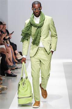 Green, green, green! Very stylish color this Spring and Summer.