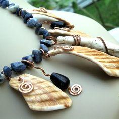sea shard necklace
