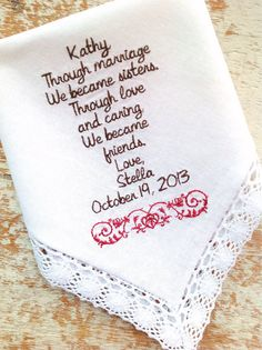 Sister Wedding Gift, Gift Ideas, Sister Of The Bride, Gifts For Sister ...