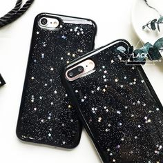 Fashion Glitter Bling Star Case For iphone 7 Case For iphone7 6 6S PLus Phone Cases Luxury Cartoon Starry Sky Back Cover Capa