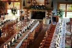 Centennial Vineyard - reception room