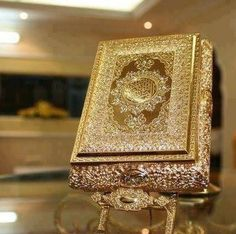 beautiful Golden Quran