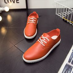 Men's business casual shoes men round head with sandals A10 breathable single shoes 2017 youth spring tide of England