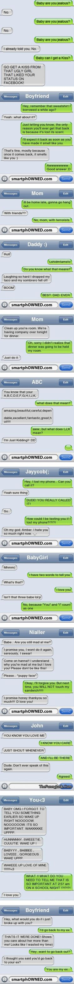 Check out to get some laughs from jokes sms, and funny texts messages. Funny text messages between couples, parents and kids Funny Posts, Funny Shit, Funny Humor, Funny Stuff, Humor Texts, Mom Funny, Funny Life, Haha, Lol Text