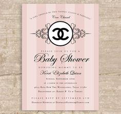 chanel baby shower | chanel baby shower : Allison Gellner : : Graphic Design