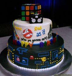 Colección de tartas frikis a las que desearás dar un mordisco