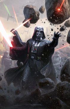 Star Wars™Legion - Limited Edition Darth Vader Commander Expansion for Star Wars Celebration Images Star Wars, Star Wars Pictures, Vader Star Wars, Star Trek, Anakin Vader, Anakin Skywalker, Darth Vader Comic, Darth Maul, Darth Vader Artwork