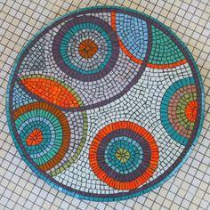 Débuter la mosaïque décorative par la pose indirecte - Maison de la Mosaïque Contemporaine
