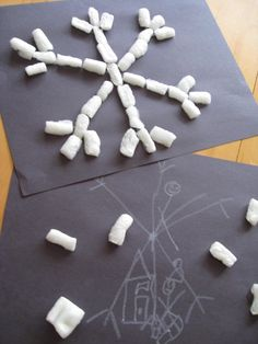 Save Those Packing Peanuts Need a winter craft for toddlers & preschoolers? Try this sensory activity using packing peanuts, construction. Sensory Activities Toddlers, Winter Activities, Christmas Activities, Christmas Crafts For Kids, Craft Activities, Country Christmas, Christmas Christmas, Kids Crafts, Winter Crafts For Toddlers