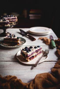 Berries & Cream Cake by carey nershi, via Flickr