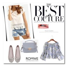 """Romwe 4/10"" by dilruha ❤ liked on Polyvore"