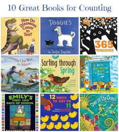 Kids will love these gorgeous reads as they learn about numbers and counting!