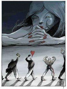 El problema no es que la mujer pueda elegir, sino que esa elección corrompa más adelante su relación de pareja, por ser inadecuada o basarse en criterios superficiales o llamativas sólo a corto plazo.