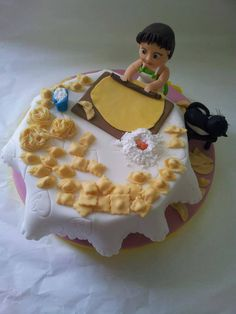 I don't make my own pasta but this is too cute!