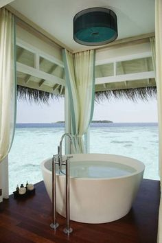 Anantara Kihavah Villas - luxurious villas with private infinity pools, Huravalhi Island in Baa Atoll, Maldives.