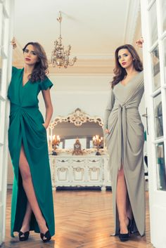Who said evening gowns can't be cool or comfortable? Marie Ollie - fashion designer