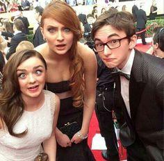 Maisie, Sophie, & Isaac