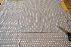 Tutorial: Μαξιλαροθήκη με δύο κομμάτια ύφασμα (χωρίς φερμουάρ) - Craftaholic