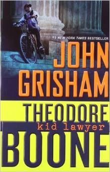 Theodore Boone: Kid Lawyer by John Grisham book review with a printable graphic organizer for students to track their changes in thinking.